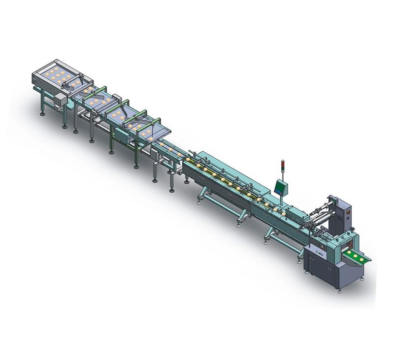 一拖一叠双层自动理料线NH-FS1