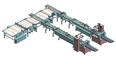 枕式包装机厂家实现了人机一体化的包装特性